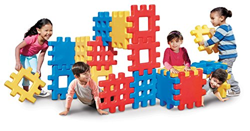 18 pieces – Little Tikes Big Waffle Block Set