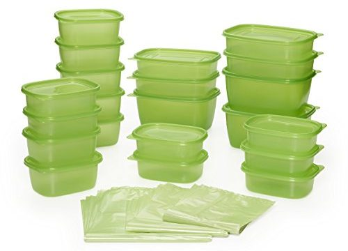 Debbie Meyer Greenbox Greenbag Set 74 Piece, Green