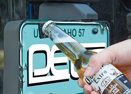 DEDC Bottle Opener for Rear License Plate fits Jeep Wrangler JK TJ Models M6 Screw
