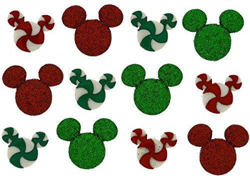 Dress It Up 7926 Disney Button & Embellishments, Holiday Candies