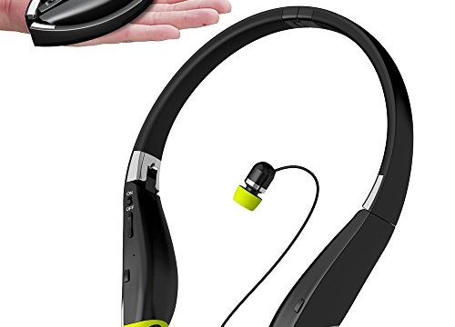 Headphones wireless neckband note 4 - earbud v1.4 wireless