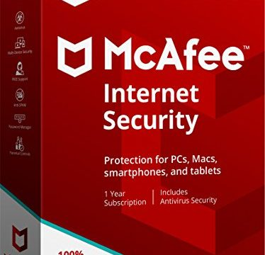 McAfee 2018 Internet Security – 3 Devices