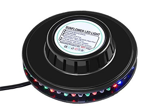 mountain ark RGB Led Party Light Auto Rotating Sunflower Stage Lighting For KTV Bar Wedding DJ Show Sound Activated
