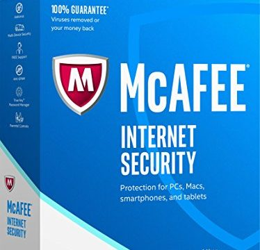 10 Devices – McAfee  2017 Internet Security