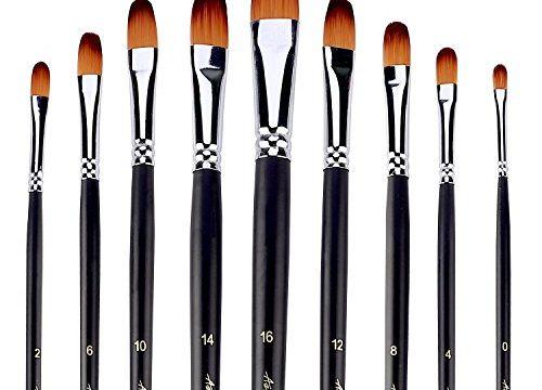 Face Paint Filbert Brush