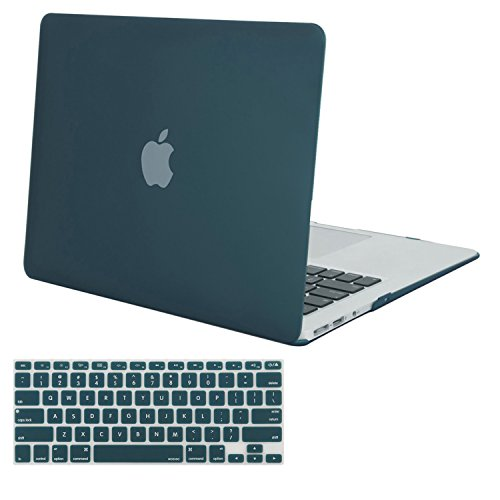 online retailer 7c7ef a9486 Mosiso Plastic Hard Shell Case Cover with Keyboard Cover for MacBook ...