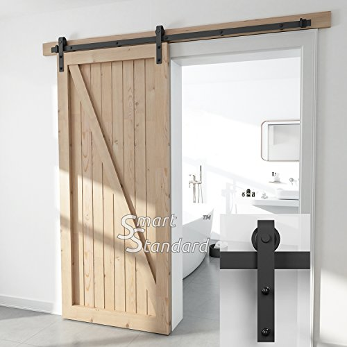 SMARTSTANDARD SDHACC03 Sliding Barn Door Bottom Adjustable Floor