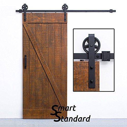 SMARTSTANDARD SDHACC03 Sliding Barn Door Bottom Adjustable Floor