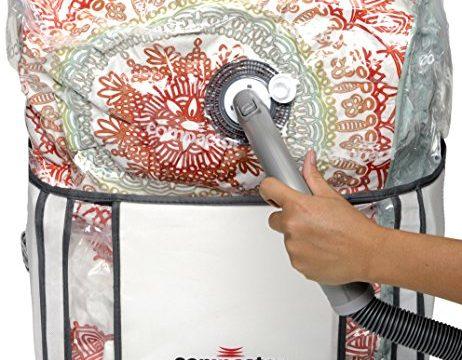Medium 16x17x10 u2013 Compactor Classic Space Saver Vacuum Storage Solution Vacuum Bag to protect Clothes & Medium 16x17x10 u2013 Compactor Classic Space Saver Vacuum Storage ...