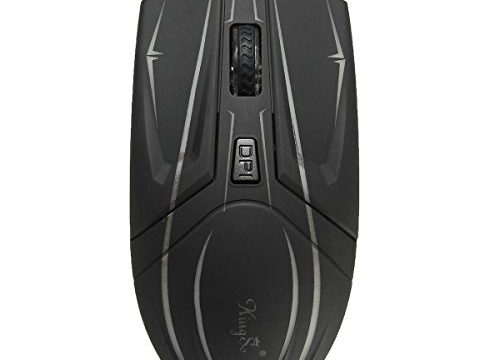 MIGICSHOW Gaming Mouse Professional Ergonomic Optical USB Wired Computer Game Mice