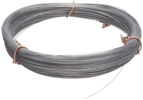 High Carbon Steel Wire, #2B Smooth Finish, Full Hard Temper, ASTM A228, 0.010″ Diameter, 936′ Length, Precision Tolerance