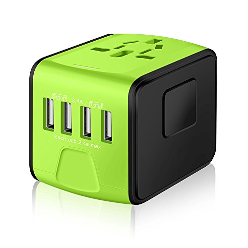 Saunorch Universal International Travel Power Adapter W