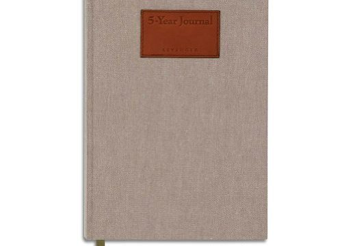Ruled Diary, Notebook/366 pages, Micro-Perforated 100gsm pages – Levenger 5-Year Journal