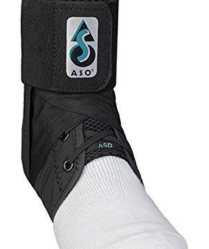 Med Spec 264015 ASO Ankle Stabilizer, Black, Large