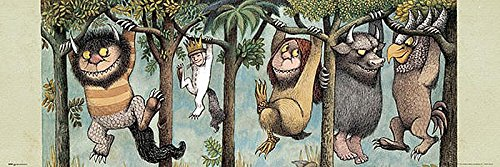 Where the Wild Things Are Poster 36″x12″