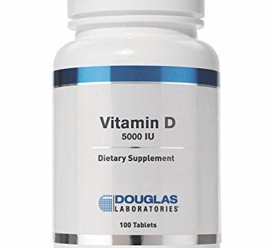 Douglas Laboratories – 100 Tablets – Vitamin D3 Health Supplement – Vitamin D 5,000 I.U.