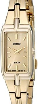 Seiko Women's SUP276 Analog Display Analog Quartz Gold Watch