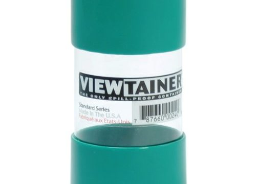 Viewtainer Storage Container, 2 x 4-Inch, Green