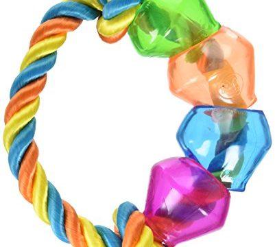 JW Pet Company Treat Pod Rope Ring, Large