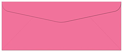 Standard Flap – 50 Hot Pink #10 Envelopes – 9.5″ x 4.125″