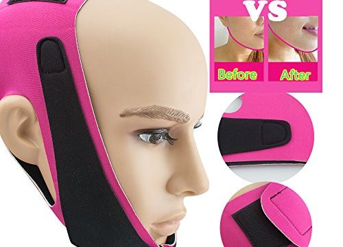 vinmax Chin Cheek Slim Lift Up Anti Wrinkle Mask Ultra-Thin V Face Line Belt Strap Band for Chirstmas Gift