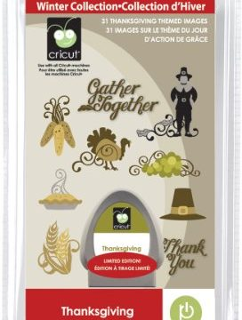 Cricut Seasonal Cartridge, Thanksgiving