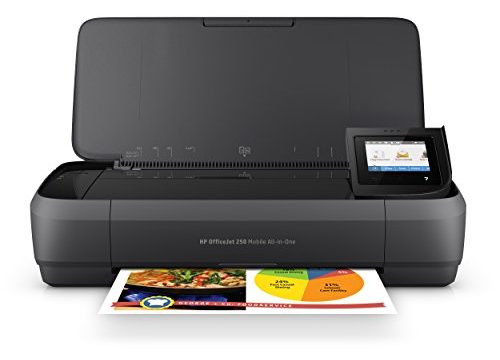 HP OfficeJet 250 All-in-One Portable Printer with Wireless & Mobile Printing CZ992A