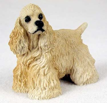 Cocker Spaniel Figurine