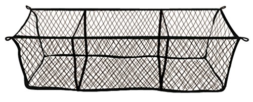 Highland 9501300 Black Three-Pocket Storage Net