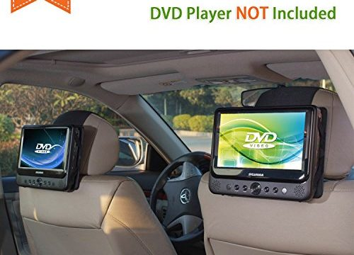 2 Pieces – TFY Car Headrest Mount for Portable DVD Player