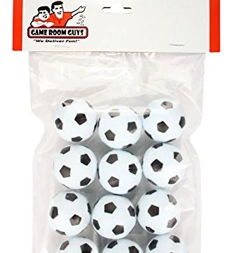 Game Room Guys Set of 12 Soccer Ball Style Foosballs for Tornado, Dynamo or Shelti Tables