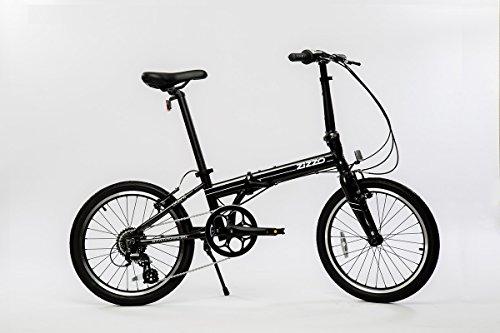 EuroMini Urbano 24lb Lightest Aluminum Frame Genuine Shimano 8-Speed 20″ Folding Bike Gray