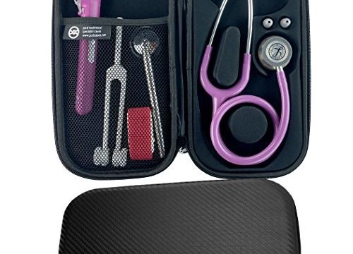 Carbon Finish for Littmann Classic III etc – Pod Technical Classicpod Stethoscope Case