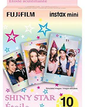 10 Exposures – Fujifilm Instax Mini Shiny Star Film