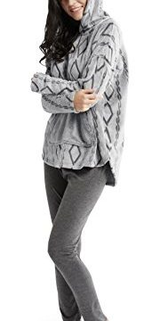 Ink+Ivy Womens Hooded Sweatshirt + Cotton Leggings Set See More Color and Size