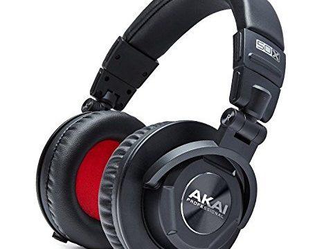 Akai Professional Project 50X   Over-Ear Studio Monitor Headphones Amazon Exclusive