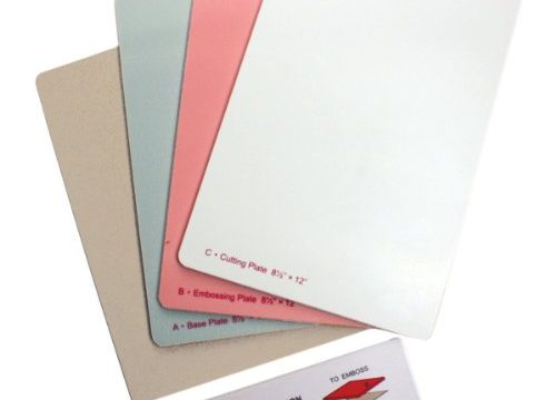 Spellbinders GC-007 Grand Calibur Die Cutting Plates with Tray Die Cutting Plates