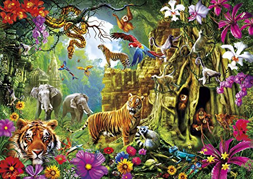 Amazing Nature Collection – Jungle Discovery – 500 Piece Jigsaw Puzzle – Buffalo Games