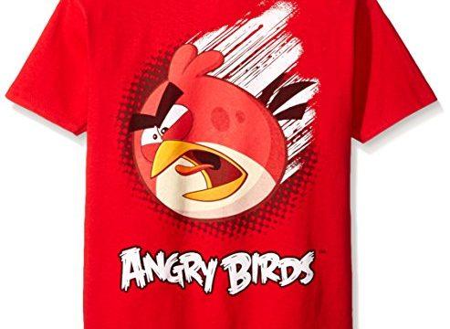 Angry Birds Boys' Short Sleeve T-Shirt