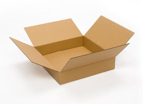 Pratt PRA0118 100% Recycled Corrugated Cardboard Box, 20″ Length x 20″ Width x 4″ Height, Kraft