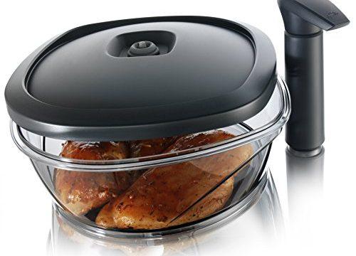 Tomorrow's Kitchen Instant Marinator, 2.50 Liter Capacity – Black