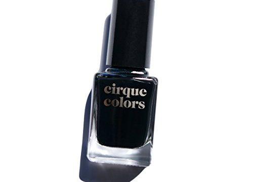 Memento Mori – Best Black – Vegan, Cruelty-Free, Non-Toxic Formula – Cirque Colors Crème Nail Polish – 0.37 fl. oz. 11 ml
