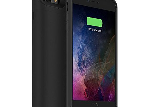 Wireless Charging Protective Battery Pack Case for iPhone 7 Plus – Black Certified Refurbished Black – Charge Force Wireless Power – mophie juice pack wireless