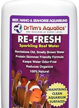 DrTim's Aquatics Re-Fresh Aquarium Revitalizer, Reef & Nano 8 oz