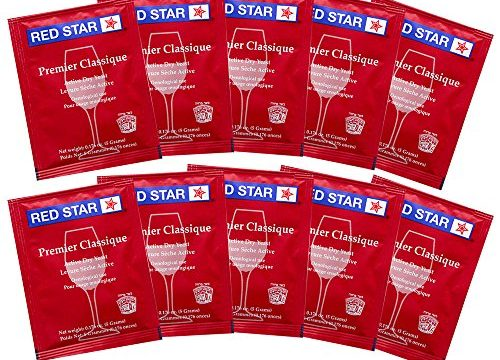 Wine Yeast Red Star Premier Classique Formerly Montrachet For Wine Making x10