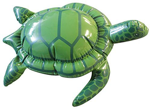 Jet Creations Inflatable Sea Turtle, 18″ Long