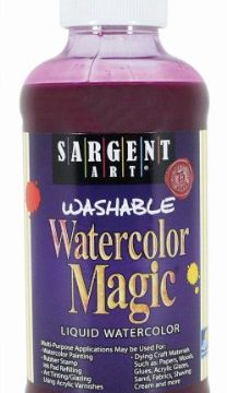 Sargent Art 22-6038 8-Ounce Watercolor Magic, Magenta