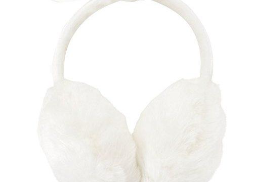 Simplicity Women's Faux Fur Fleece Winter Ear Warmers, Fleece Bow