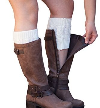 Knit Boot Cuffs Cable Knit Boot Toppers By Modern Boho