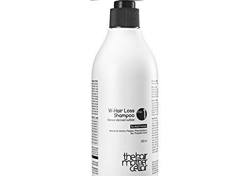 The Hair Mother Cellar W-hair Loss Shampoo for Moisturizing, Nourishing, Dandruff-off 10.14 fl. oz. / 300 ml